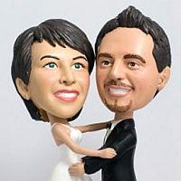 Das verlobte Paar als 3D-Figur